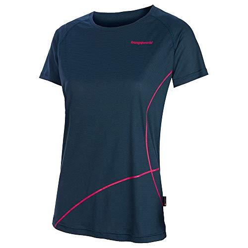 Trango Camiseta Cotiella, Mujer, Azul Ceramica, M