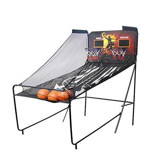 Basketballkorb Outdoor Mit Ständer Basketball Indoor (43,3x82,6x80,7 In) Mit Elektronische Scorer Für Außerhalb Sport Spiel Indoor Doppel