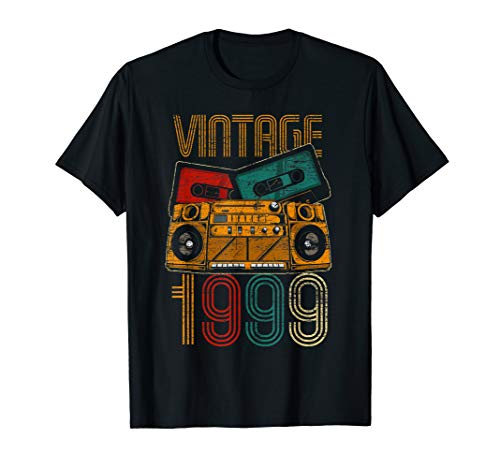 21st Birthday Gifts - Years Old Vintage 1999 T-Shirt