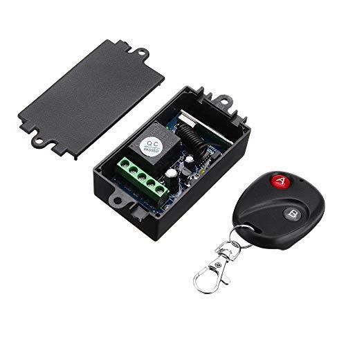 DHXX Artikel for DC12V 10-30m 1CH drahtlosen Relaisschalter 433 MHz Elektrische Fernbedienung wechseln Empfängerplatine