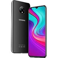 Teléfono Móvil Libres, DOOGEE X95 Android 10 Smartphone Libre, 4G Smartphone Dual SIM, Pantalla 6,52 Pulgadas, 4350mAh Batería, Triple Cámara 13MP+5MP, 16GB ROM, 128GB SD, Face ID - Negro
