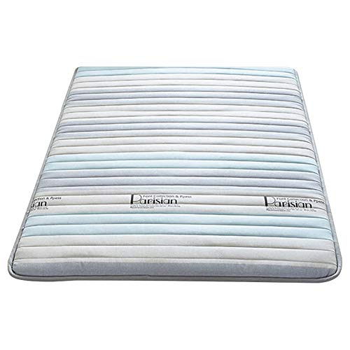Tatami Mattress, Burlap Fabric, Universal In All Seasons, Foldable Soft Mattress, Warm And Thick, Non-slip And Breathable, You Can Enjoy Fresh Sleep (6 Cm)(Color:B,Size:1.8 * 2.0M)