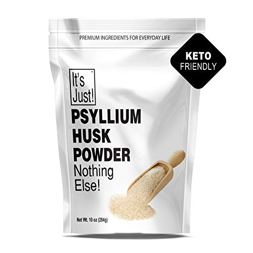 It's Just - Psyllium Husk Powder, Non-GMO, Dietary Fiber, Keto Baking (10oz)