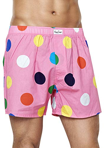 Happy Socks Men's Polka Dot Boxer 3000 M