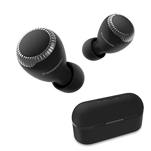 Panasonic True Wireless Earbuds | Bluetooth Earbuds|IPX4 Water Resistant | Small, Lightweight | Long Battery Life, Alexa Compatible | RZ-S300W (Black)