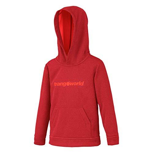 Trangoworld - Nogat - Sweat à capuche - Mixte Enfants - Rouge (rojo chili) - Taille: 14 ans (XL)