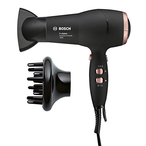 Bosch PHD9948 2400W Negro secador - Secador de pelo (91 m³/h, Negro, 3 m, CE, VDE, 2400 W, 220-240)