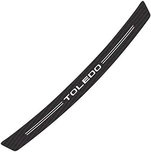 Auto Stoßstangenschutz, für Seat Toledo Auto Heck TüRschwelle Schutz- & Zierleisten, Kohlefaser