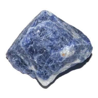 Sodalite grezzo 40 a 60 mm pietra da collezione e lithotherapie