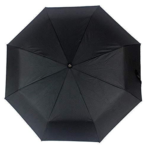Parasol Parapluie Parapluie Automatique Pluie Femmes Hommes 3 Pliant Léger Et Durable Solide Parapluies Colorés Pluvieux Ensoleillé Voyage Parasol Noir
