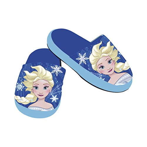 Disney Frozen Slipper Kinderhausschuhe Schuhe Pantoffeln Hausschuhe Die Eiskönigin Anna ELSA Olaf Sven WD12314 (28/29)