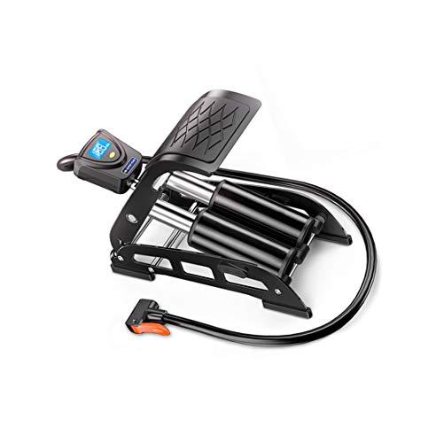 ANFAY Zuverlässig Standpumpe Titan Stahl Fahrradpumpe 220 PSI Hoher Druck Für Presta Und Schrader Und Dunlop Ventil Mit Elektronischem Manometer
