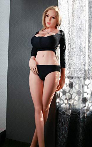 Best Price 165cm/5.41ft Realistic Standing Torso Ṗôckét Pušsÿ Sé'x Love Dõles TPE Silicone L...