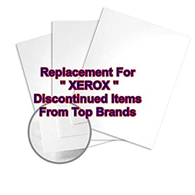 Limited Papers (TM) White Coated, Gloss, Digital, Printing Paper, Ultra Smooth Finish, Replacement For Xerox Discontinued Items, Sourced From Top Brands. (8.5 x 11-100lb Cover - 3R11462)