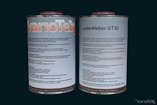 Variotex GT-30 Leren lijm warmte-activerbaar 5000 ml lijm lederen lijm lijm tapijt stof leer oldtimer lederen kleefmachine kleermakerij