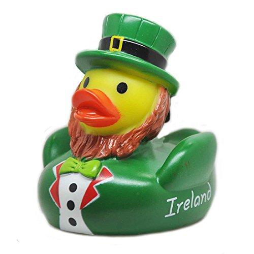 Souvenir Donal The Duck With Leprechaun Design Rubber Duck