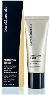 bareMinerals Complexion Rescue Tinted Hydrating Gel Cream SPF 30, Dune 7.5, 1.18 Ounce