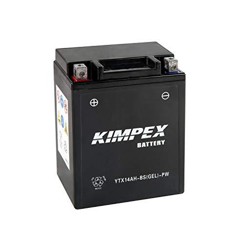 Kimpex Battery Maintenance Free AGM High Performance YTX14AH-BS(GEL)