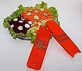 Grattugia per carote e verdure con larghezza di taglio di 1 mm