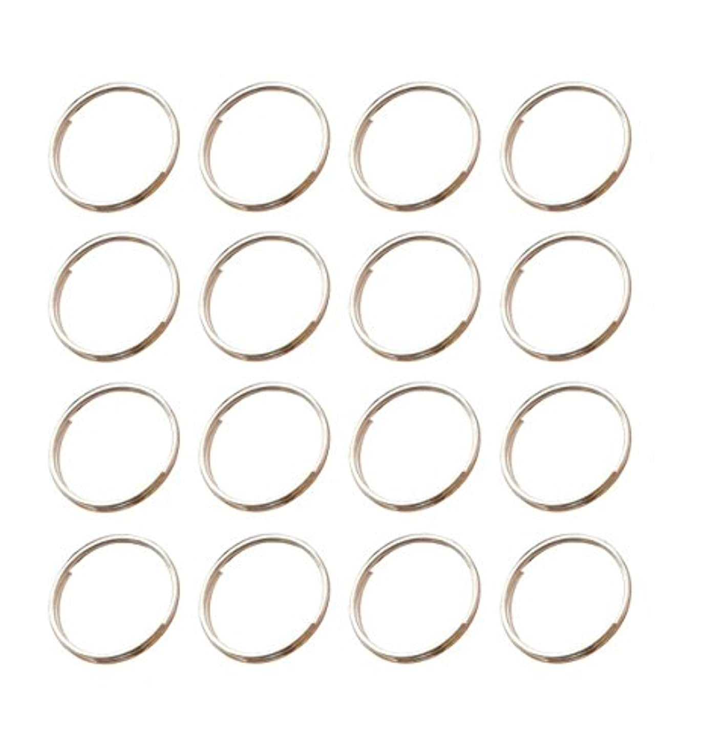 200Pcs Stainless Split Rings for Chandelier Crystals, Suncatchers, Crystal Garlands, Crystal Bead Curtains, Crystal Strands, Necklaces, Keys, Earrings, Jewelry Making and Craft Project (12mm)