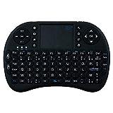 Mini Clavier Bluetooth pour Sony Xperia Z5 Smartphone sans Fil AZERTY Rechargeable (Noir)