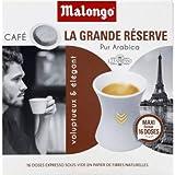 Malongo Dose expresso grande reserve - La boite de 16 doses, 104g