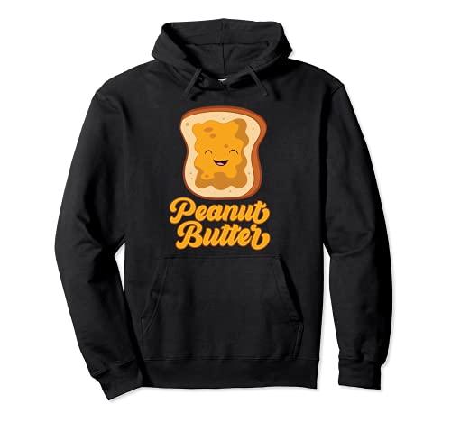 Peanut Butter Toast Halloween Kostüm Peanut Butter Pullover Hoodie