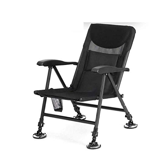 LLSS Silla para tumbonas al Aire Libre, sillas de Patio Plegables Silla de Camping portátil con cojín para el Cuello para Pesca, Vacaciones, jardín, Playa, Patio, salón