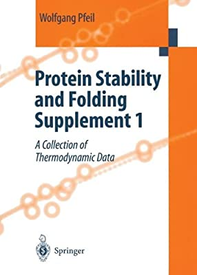 Protein Stability and Folding. Supplement 1: A Collection of Thermodynamic Data