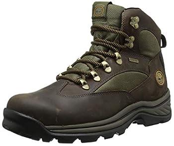 Timberland Men s Chocorua Trail Mid Waterproof Hiking Boot Brown/Green 12 D - Medium