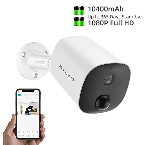 Wireless Battery Powered Security Camera Outdoor,...