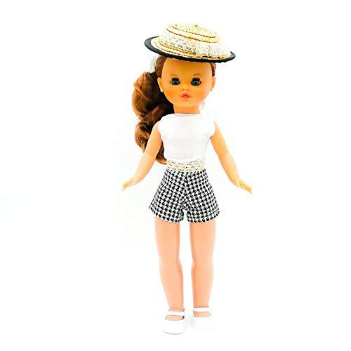 Folk Artesanía Muñeca Sintra 42 cm. con Vestido edición Limitada colección diseño, Fabricado en España Similar Nancy. Mod 16