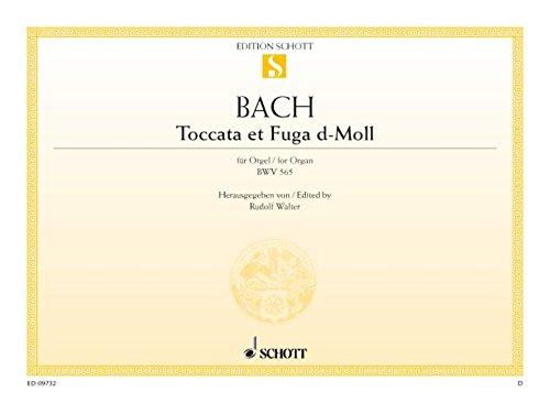 Toccata et Fuga d-Moll: BWV 565. Orgel. (Edition Schott Einzelausgabe)