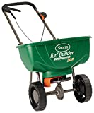 Scotts 76232 Turf Builder EdgeGuard DLX Broadcast Spreader, Deluxe...