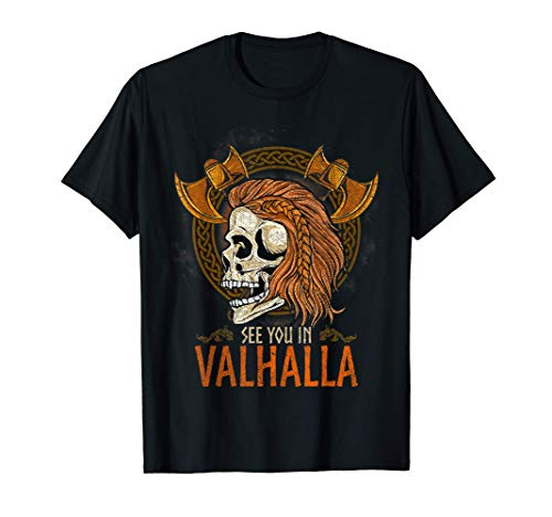 See You In Valhalla Viking T-Shirt