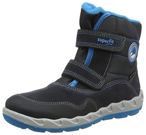 Superfit Icebird, Botte de Neige, Grau/Blau 2000, 29 EU