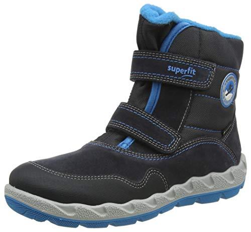 Superfit Baby Jungen Icebird Schneestiefel, Grau Blau 2000, 34 EU Weit