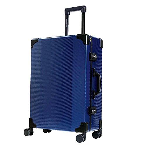 S型 ブルー/DL-2457K(RECT) TSAロック搭載 スーツケース トランクケース 超軽量 小型 (1〜3日用)