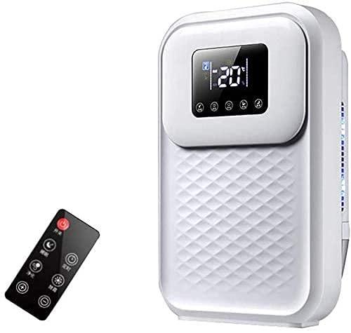 QCSMegy Deumidificatore d'Aria Digitale a capacità 2.4L Anione UV a Bassa energia Purificare l'aria per la casa Guardaroba Bagno Cucina, Filtro di Raffreddamento Asciugatrice Condizionatore