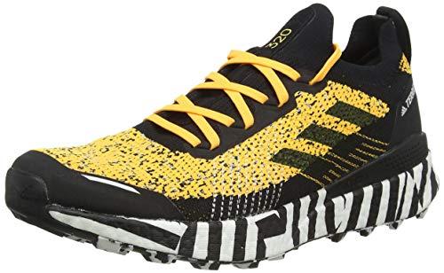 adidas Terrex Two Ultra Parley, Zapatillas de Running Hombre, Dorsol/NEGBÁS/FTWBLA, 43 1/3 EU