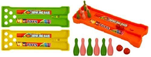 The Toy Jar 6x Mini Bowling Alley Spiel–Party Bag Spielzeug