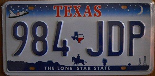 Fabbri Targa Americana Nuova 31x16 cm Riproduzione Texas