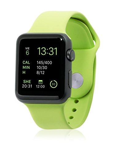 UNOTEC Uhrenband für Smartwatch Sport Apple Watch 38 mm grün