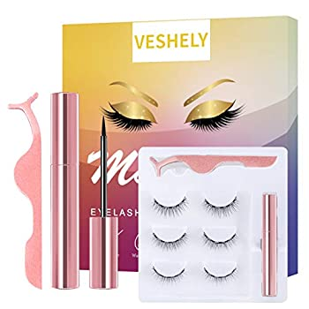 Best magnetic lashes natural look Reviews