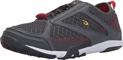 OluKai 'eleu Trainer - Women's Athletic Shoes Dark Shadow/deep Red - 6