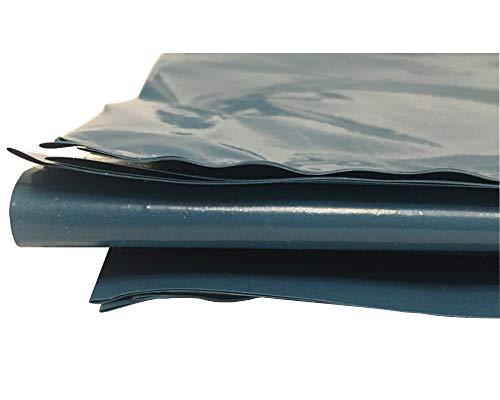 hocz 240 Liter Müllsack Blau | reißfest EXTRA stark ✔ | a 10 stück | Premium Qualität ✔ | Typ 025 | Müllsäcke Abfall-Säcke XXL Abfallbeutel | 90 μ ✔ | LDPE | Müllbeutel (10 Stück)