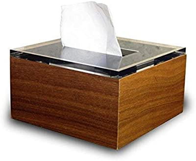◆アウトレット◆ディスダブリュー ハーフ ティッシュボックス/Dix/W Half Tissue Box (ティッシュケース) (ウォールナット)
