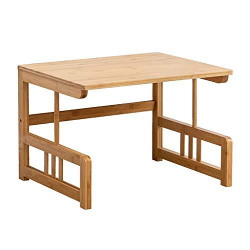 Soportes de Impresora 2-Tier bambú impresora de escritorio Soportes for el hogar y la oficina de almacenamiento dispositivo de estante for impresora, libros, objetos pequeños Soporte de Impresora para