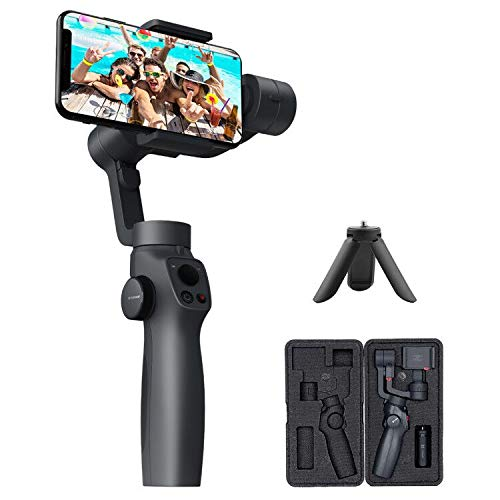 FUNSNAP Handheld Gimbal Stabilizer for iPhone 11Pro/X/XS Android Smartphone Vlog Youtuber Live Video...