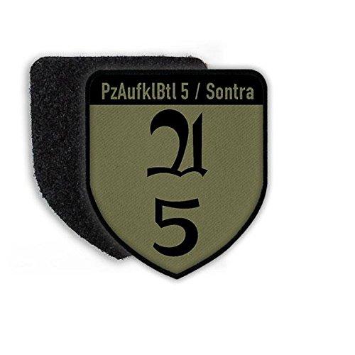 Copytec Patch PzAufklBtl 5 Sontra Panzer-Aufklär-Bataillon Kompanie Bundeswehr Aufnäher Klett Wappen Emblem Tarn Uniform#21629